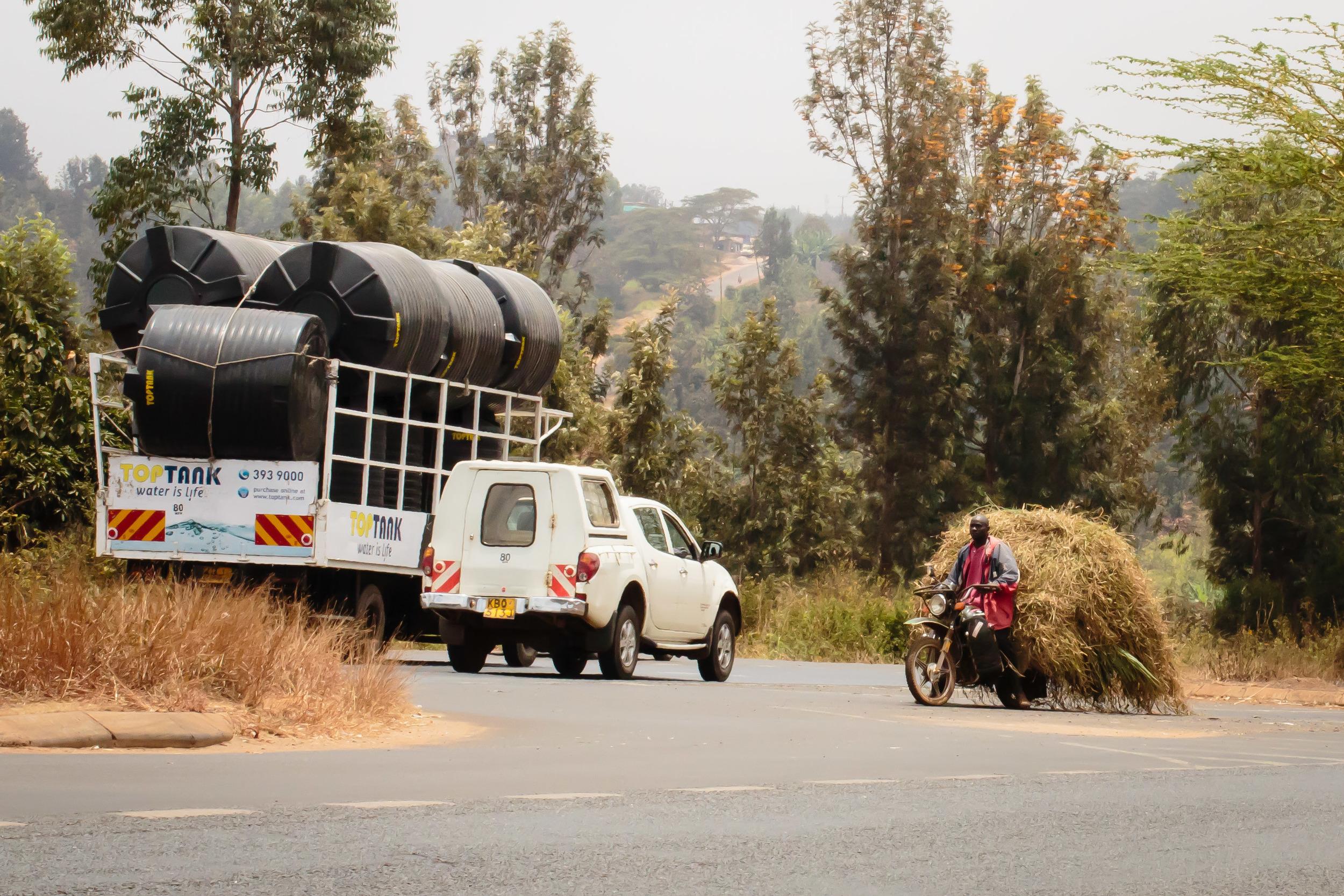 Motorcycle Commerce, On the Road to Nairobi, Kenya