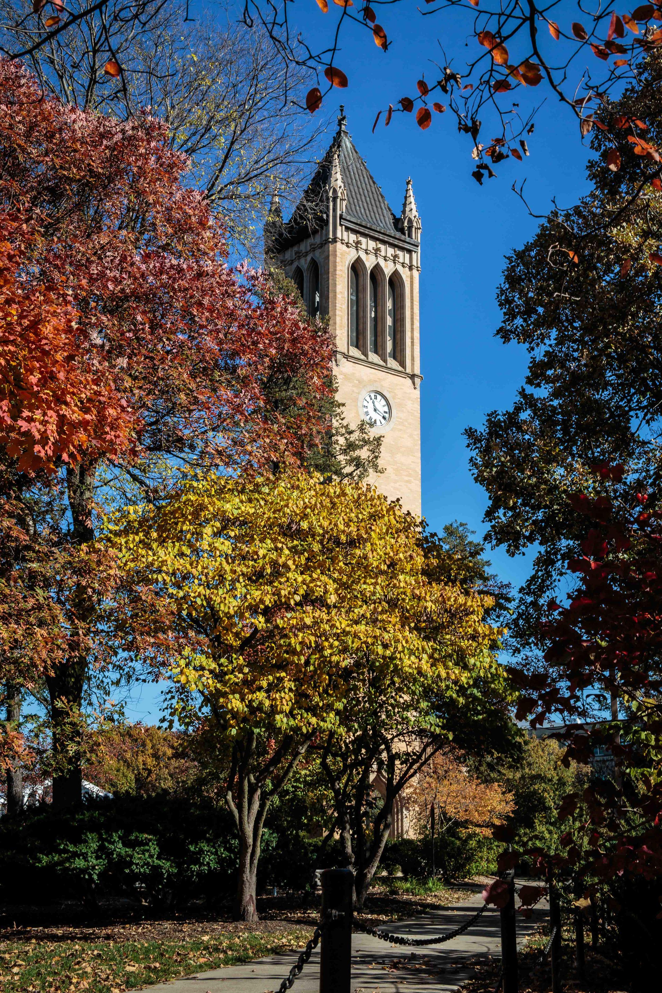 """The Bells of Iowa State"", Iowa State University Campanile, Ames, Iowa"