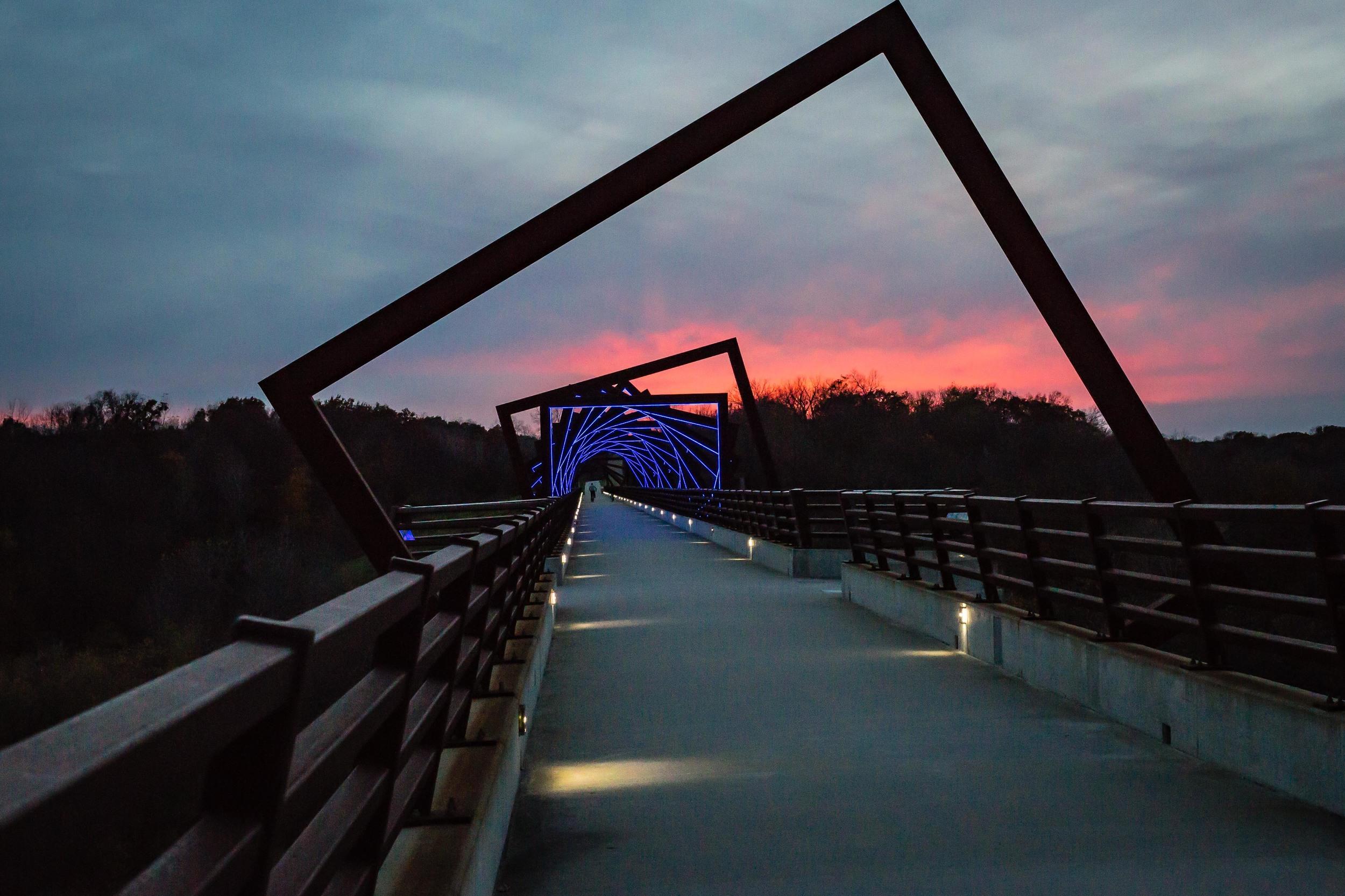 High Trestle Bridge, Madrid, Iowa