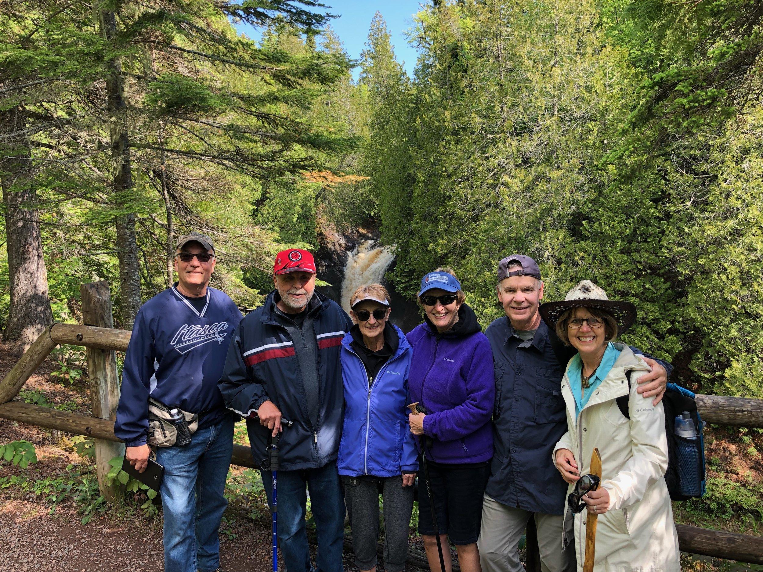 Minnesota North Shore: Sixpack of Hikers