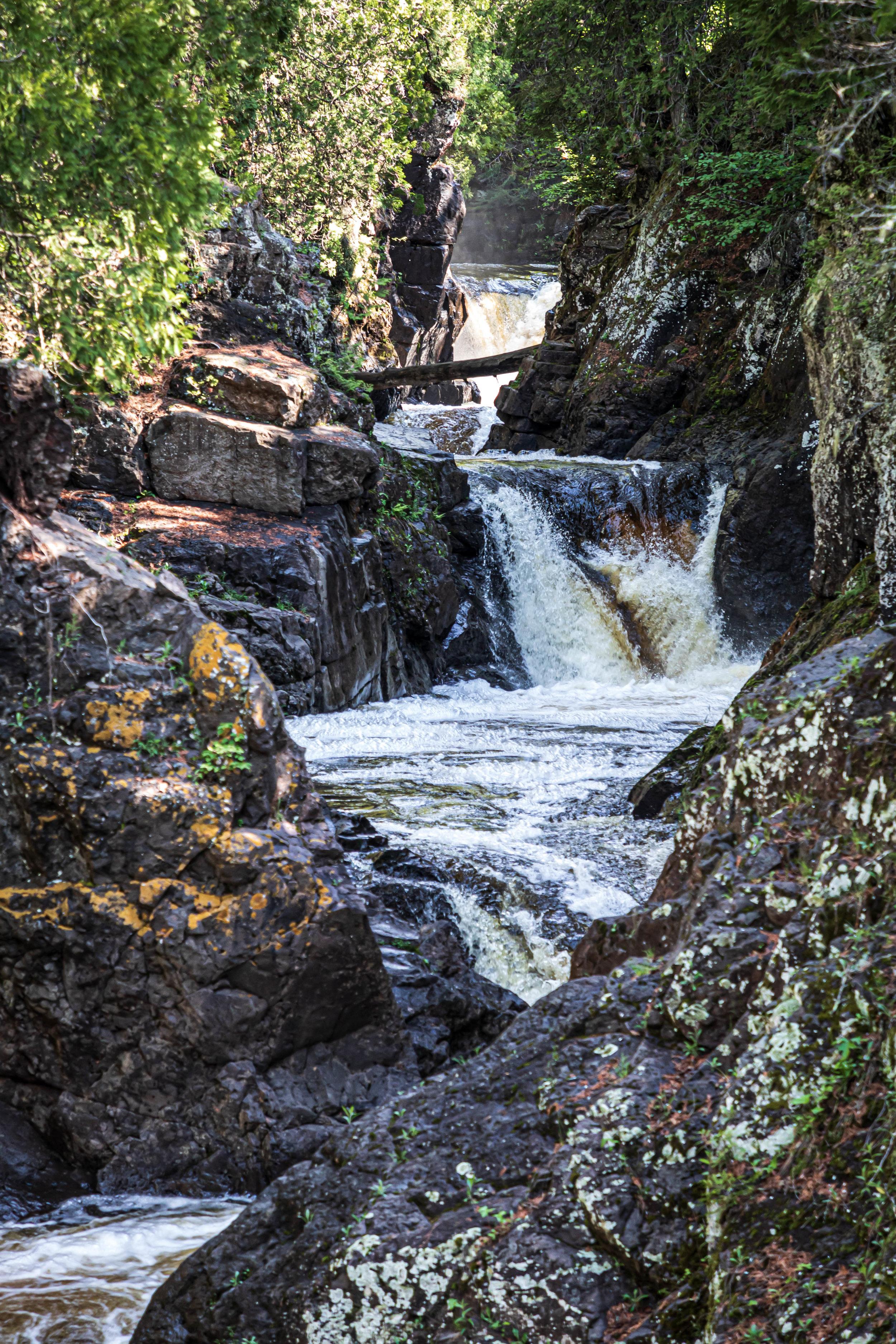 Minnesota North Shore: Waterfall 3