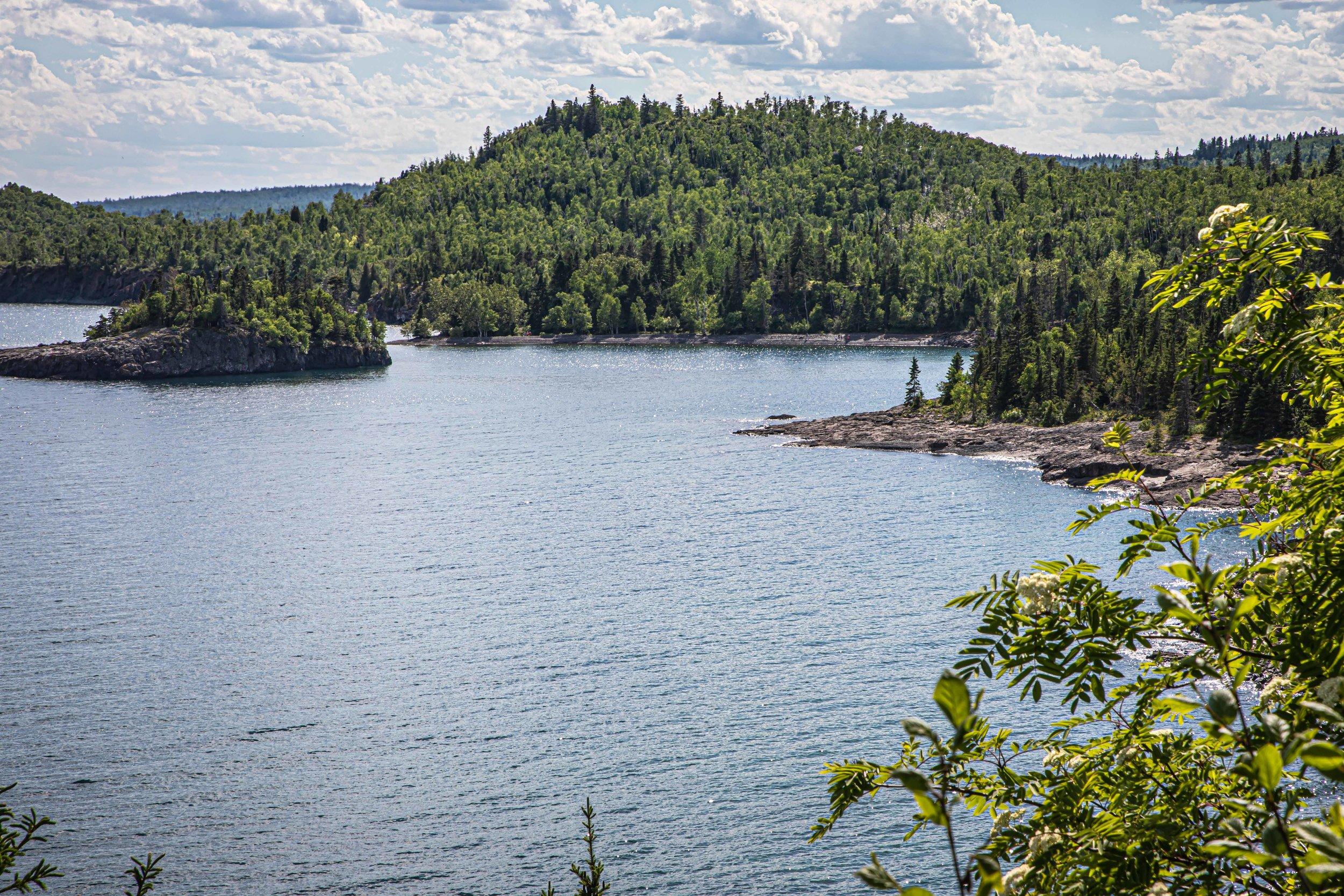 Minnesota North Shore: Superior Lakeshore View