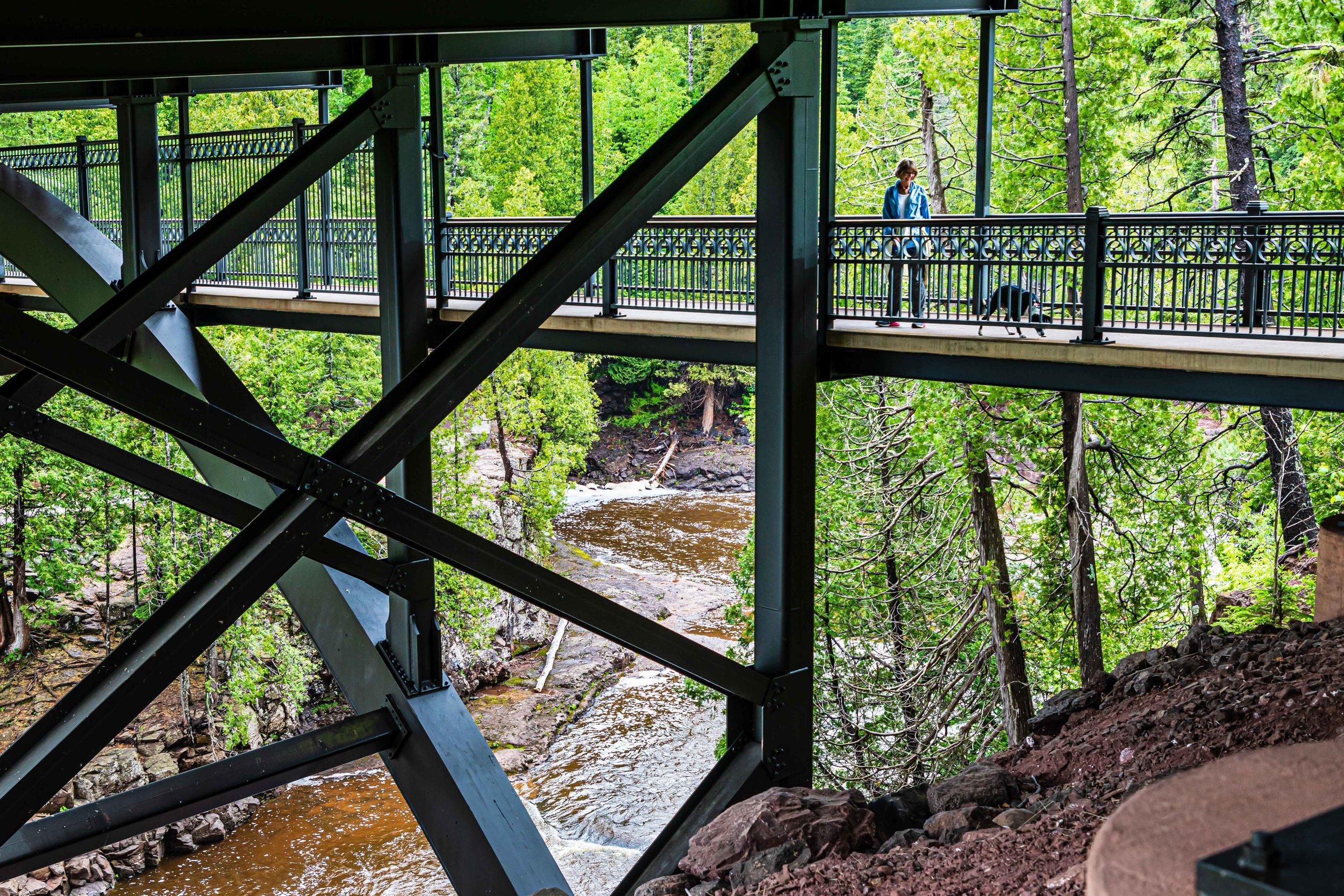 Trestle Bridge, Lake Superior North Shore