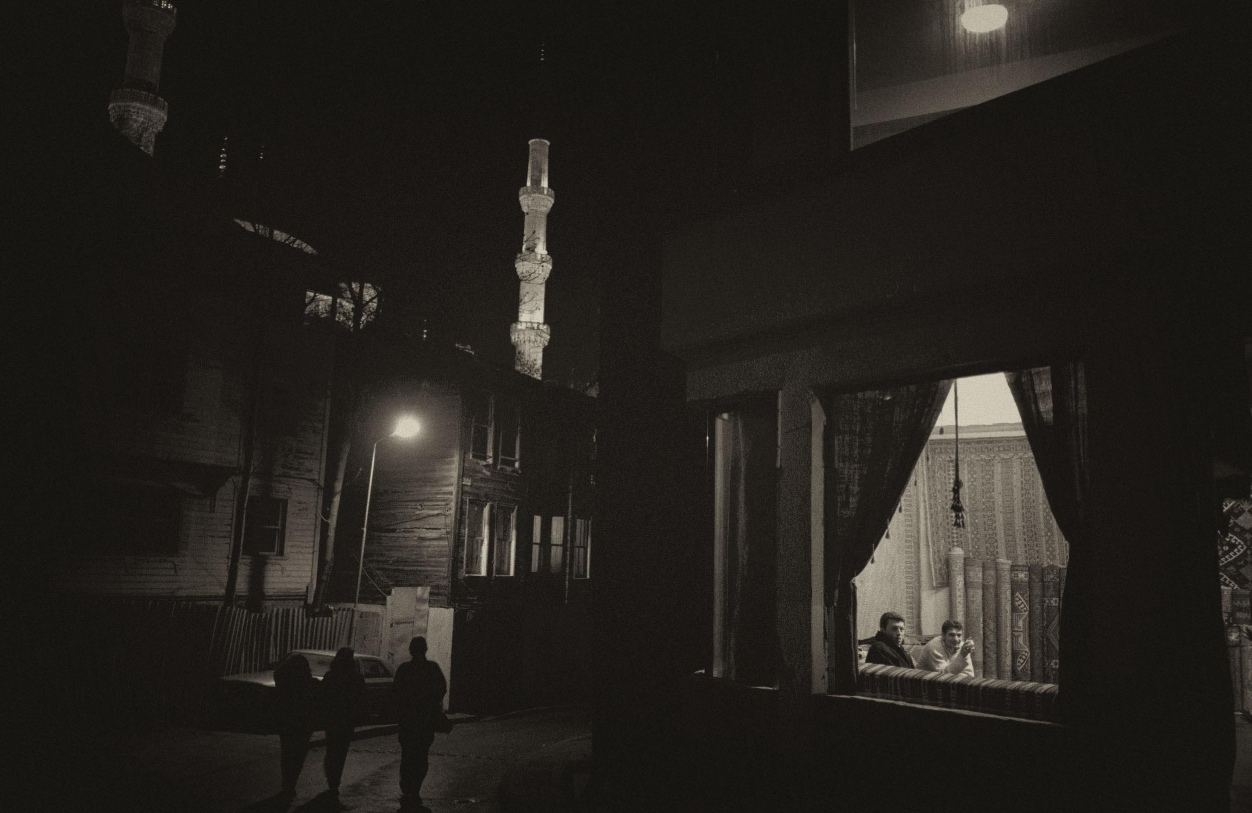 Night Falls, Istanbul