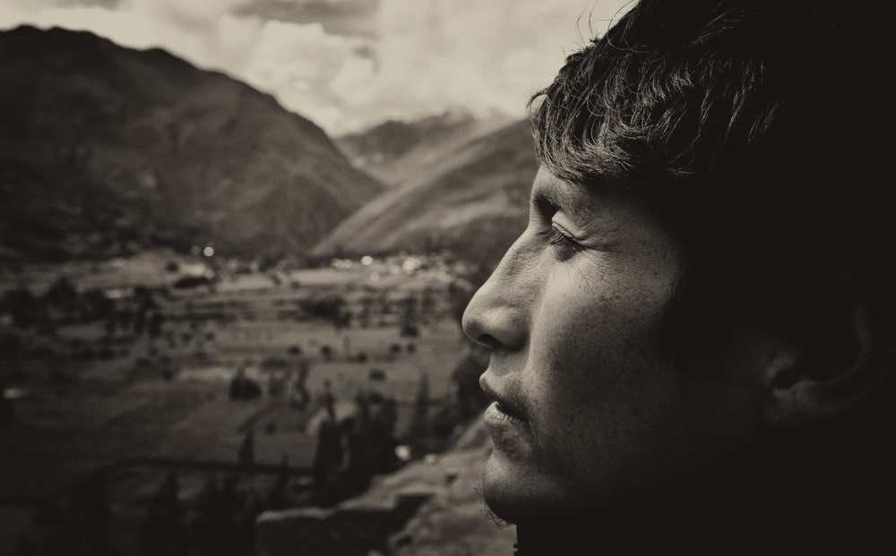 In the Sacred Valley, Peru