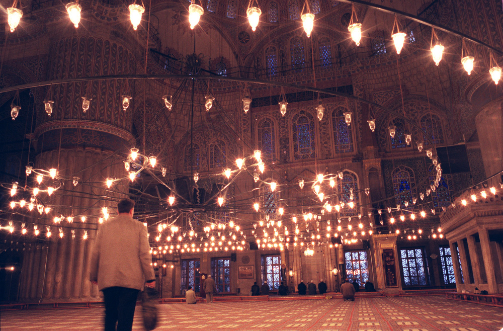 In the Blue Mosque, istanbul