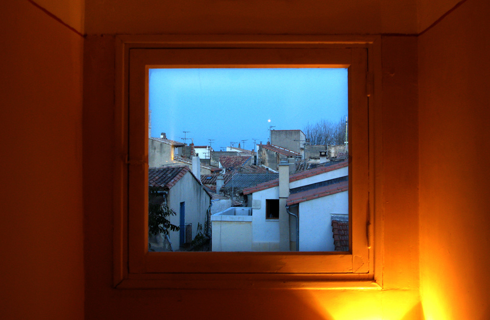 Out the window, Arles, France
