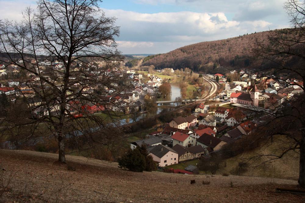 Solnhofen, Germany, home of the original archaeopteryx