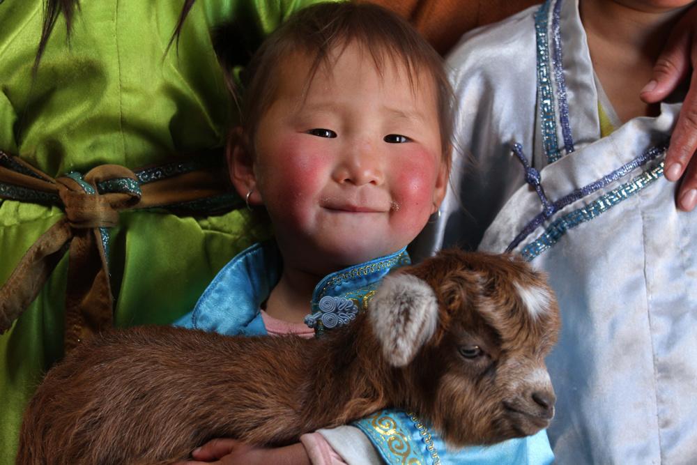 Smile, Mongolia