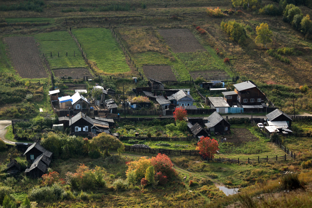 Village near Lake Baikal, Siberia