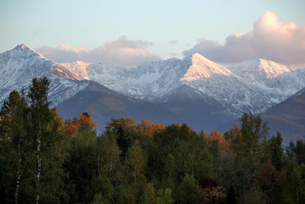 The mountains of Buryatia, Siberia