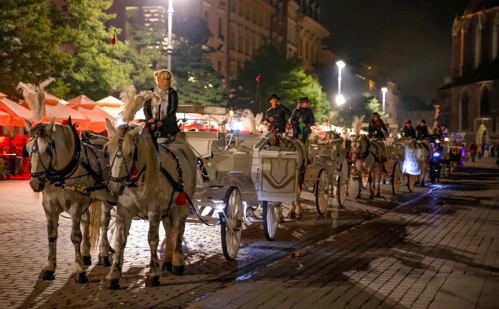 Carriages, Krakow, Poland