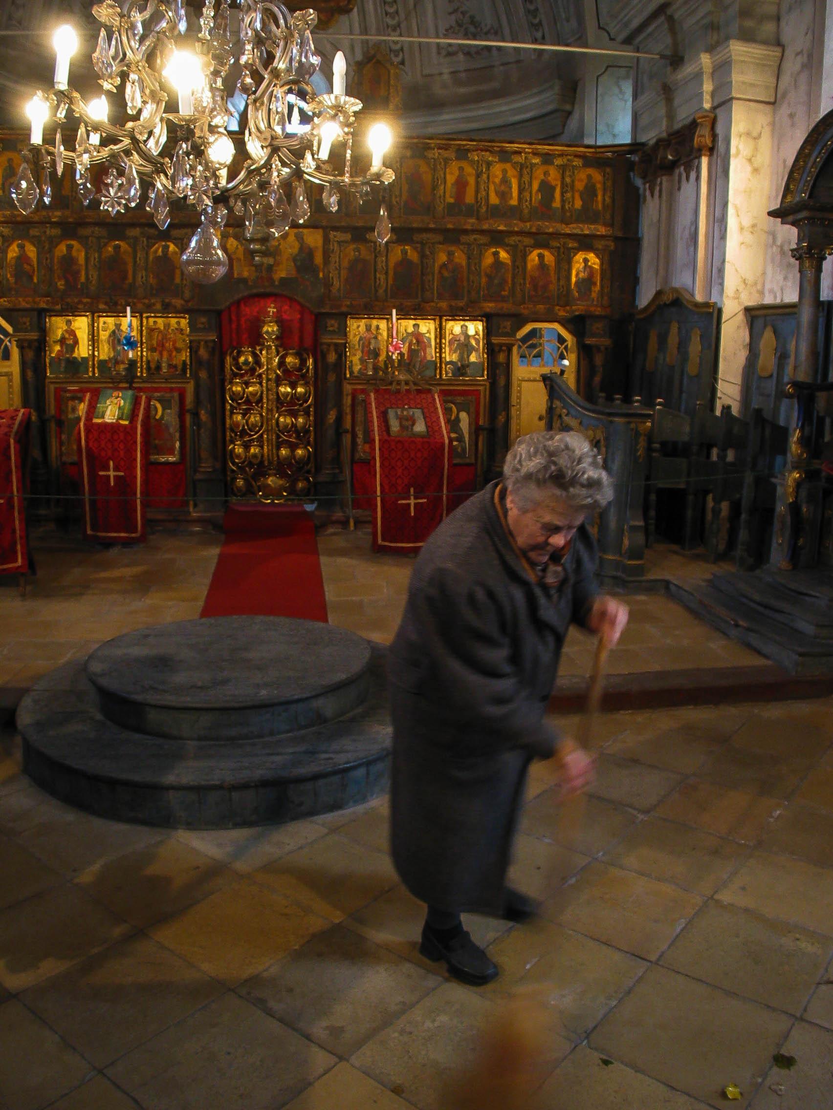 Sweeping up, Hungary