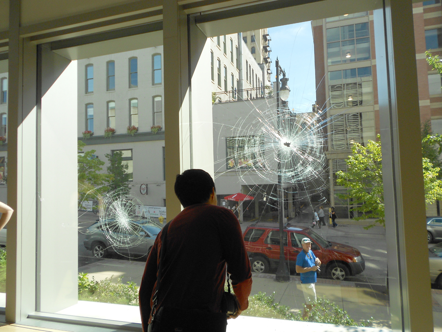 "Kaitlin Brewer's ""Shattered"" at Grand Rapids Art Museum"