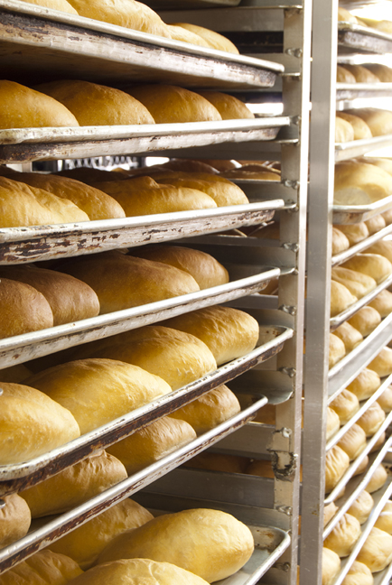 Fresh loaves at Chilango's