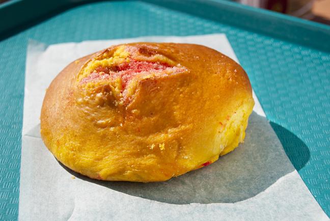 Sugary sweet pink pan dulce
