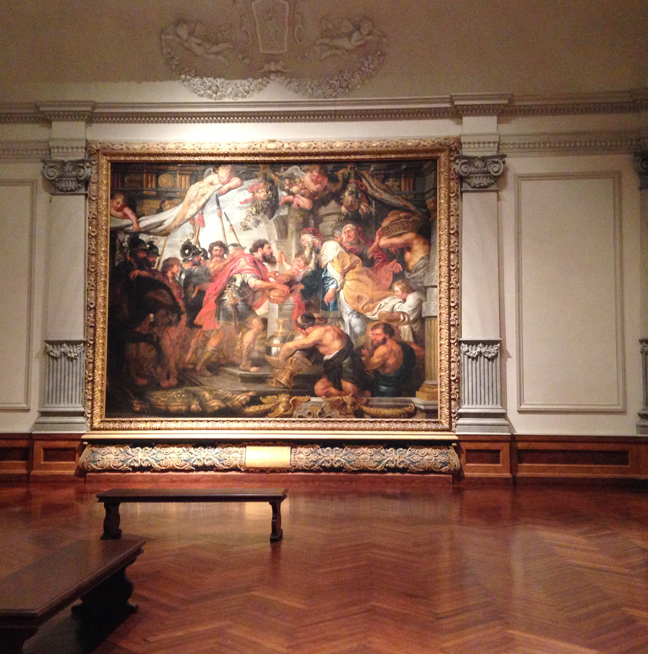 The main entry of the museum leads right into these larger-than-life works. They had to have been at least fifteen feet tall, truly sublime.
