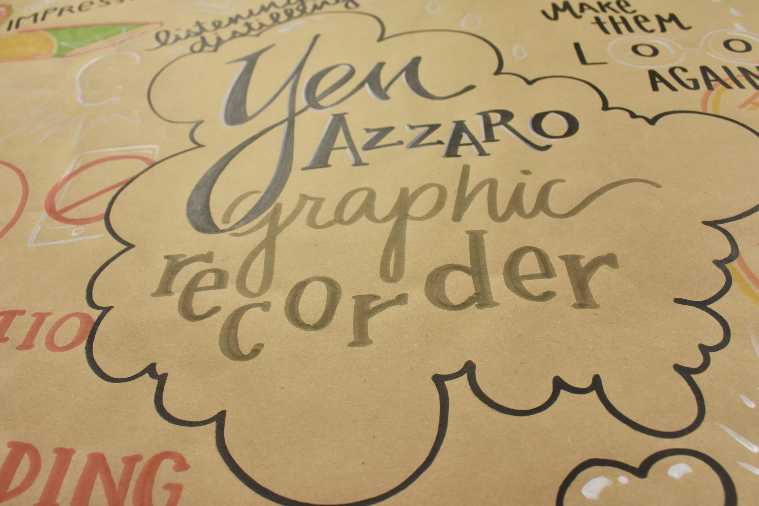 Detroit graphic recorder Yen Azzaro