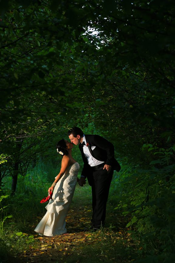 Bluemont Vineyard Bride and Groom Photo