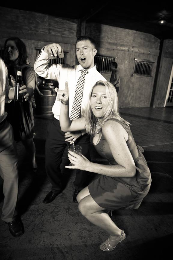 Bluemont VIneyard Wedding Reception Dancing Photo