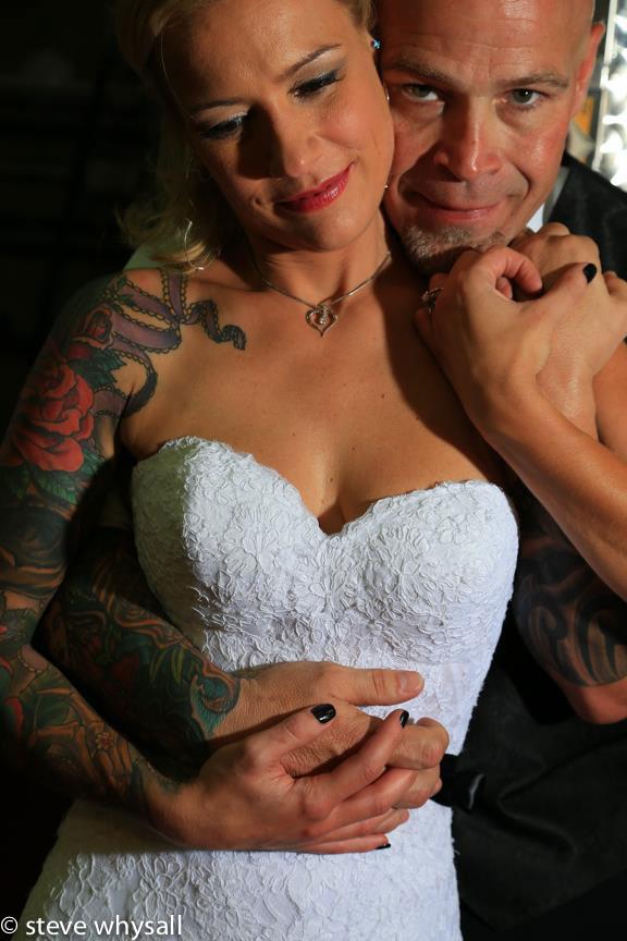 Bluemont Vineyard Bride and Groom