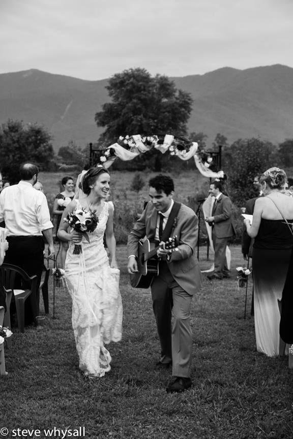 Virginia Farm Wedding Ceremony