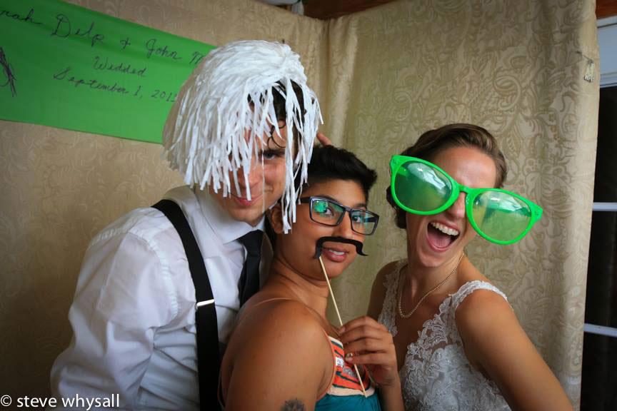 Virginia Farm Wedding Reception Goofy