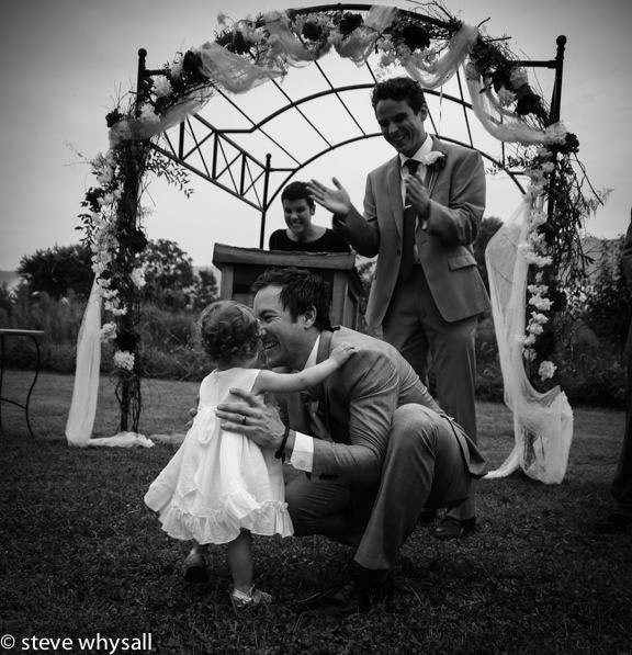 Virginia Farm Wedding Ceremony Photo