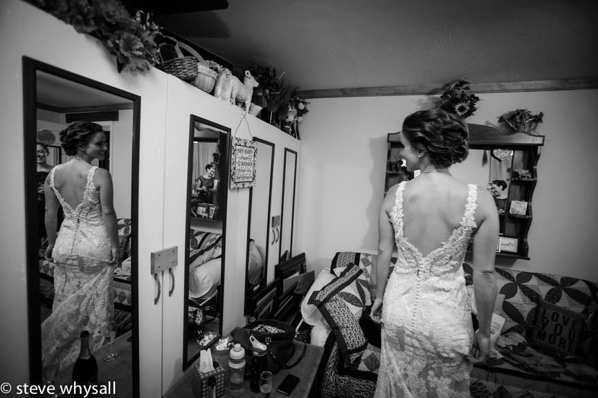 Virginia Farm Wedding Bride Getting Ready