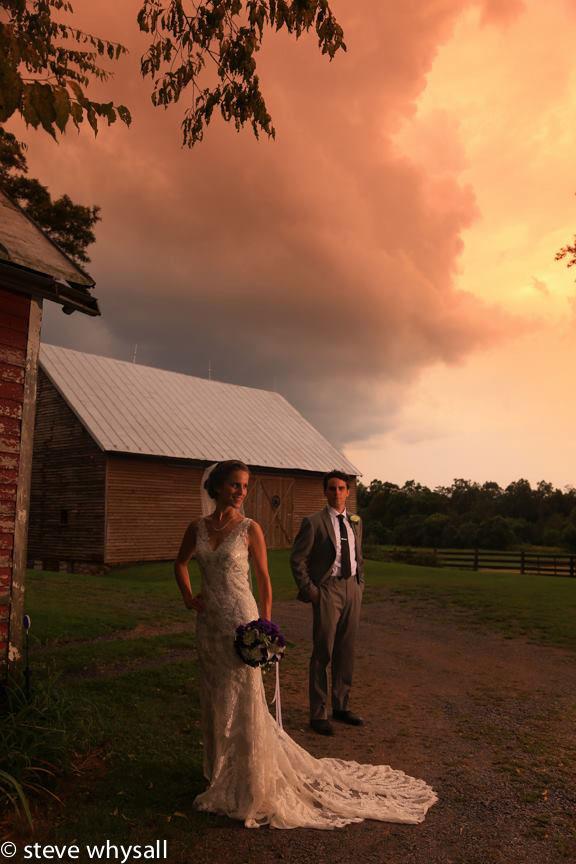 Virginia Farm Wedding Bride and Groom