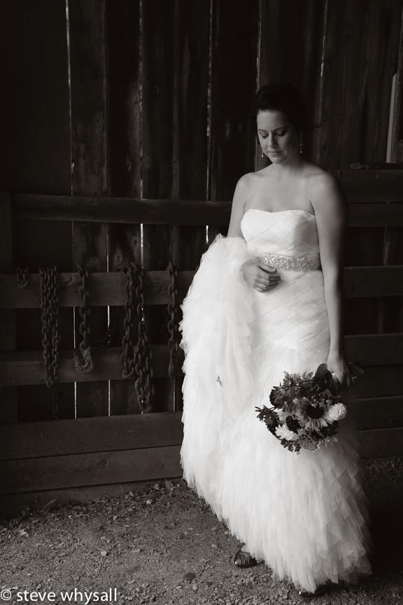 Weather Lea Farm Bride Portrait