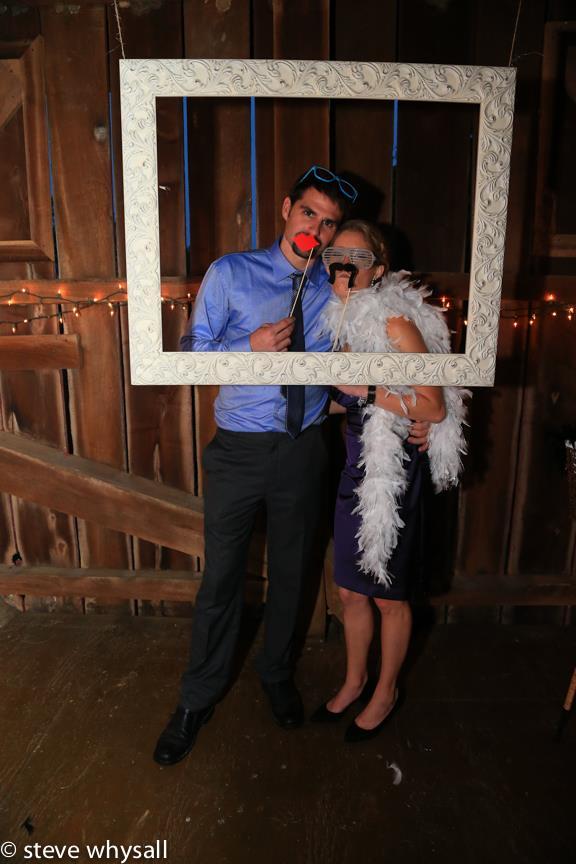 Weather Lea Farm Wedding Reception Having FUn