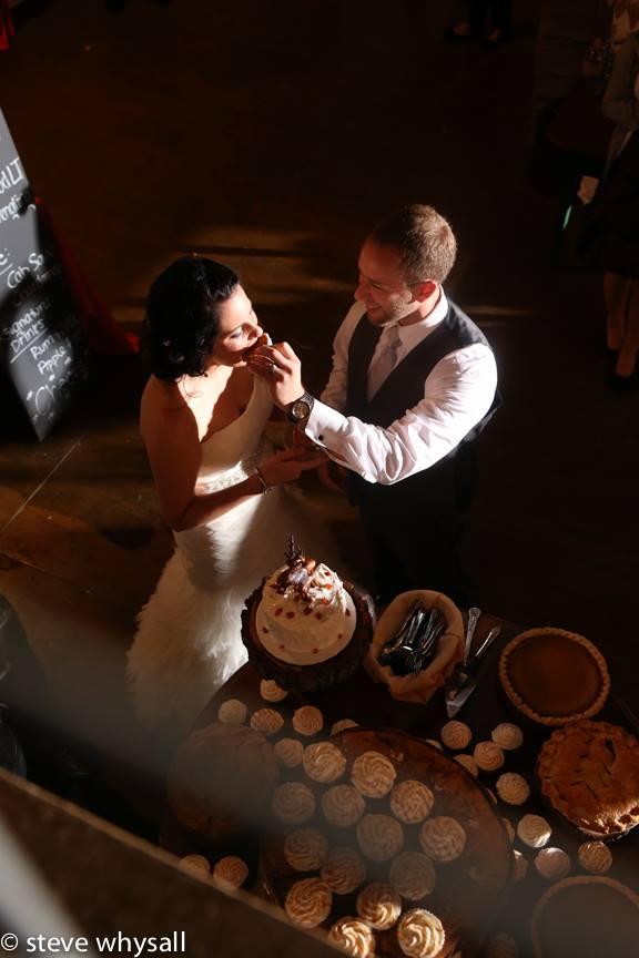 Weather Lea Farm Wedding Reception Cake