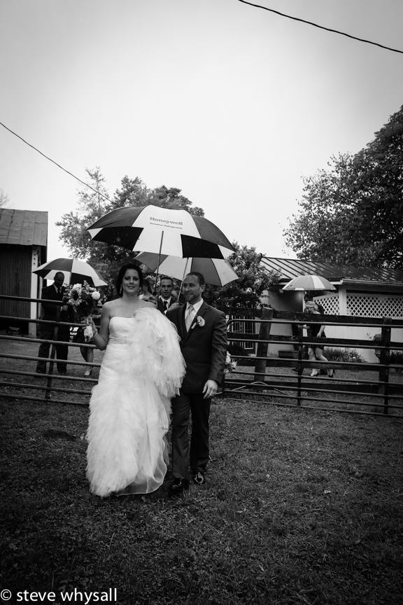 Weather Lea Farm Bride and Groom