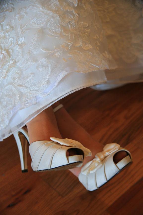 Bluemont Vineyard Wedding Shoes