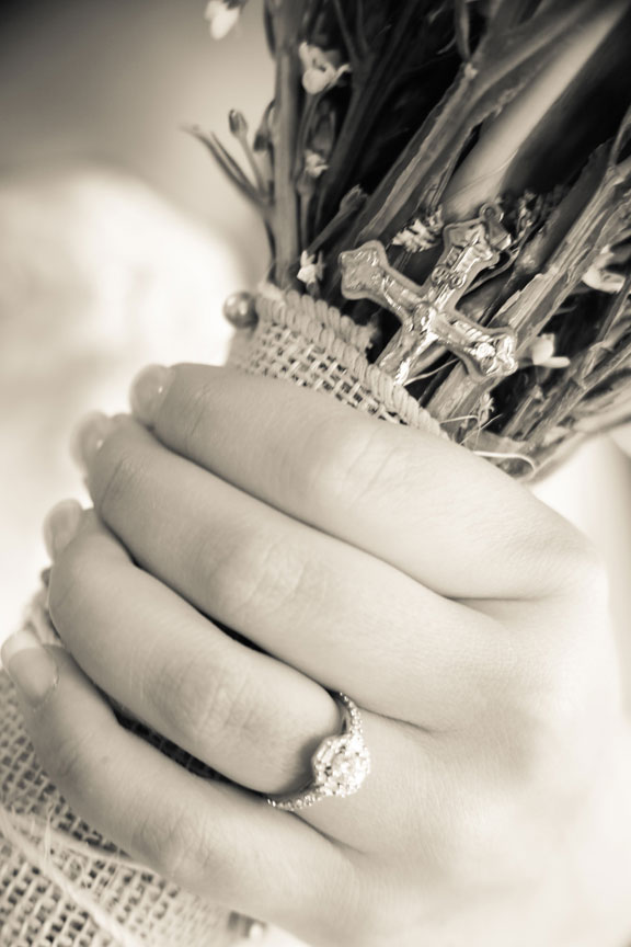 Bluemont Vineyard Wedding Detail