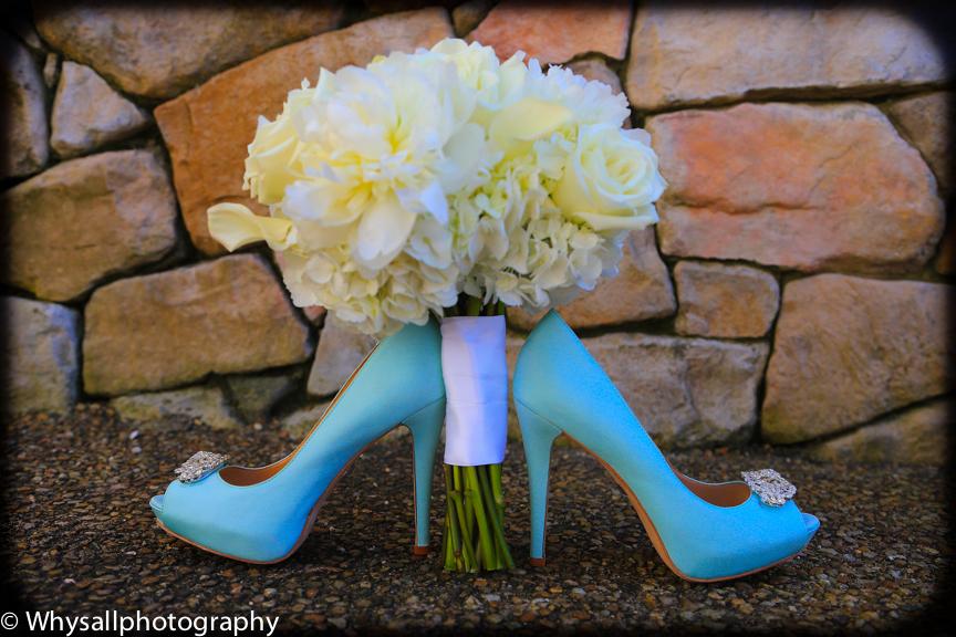 bull run wedding shoes