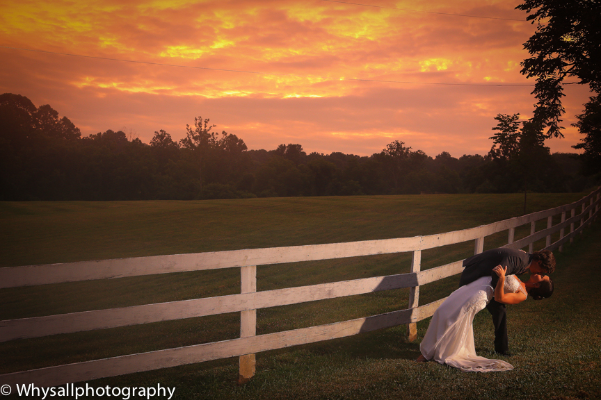 Briar Patch Bride and Groom Photo