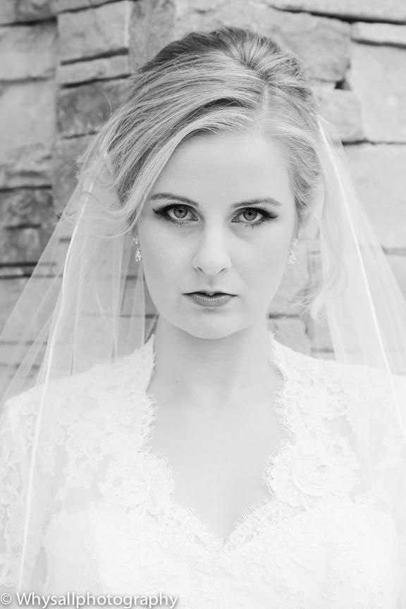 the woodlands bridal portrait