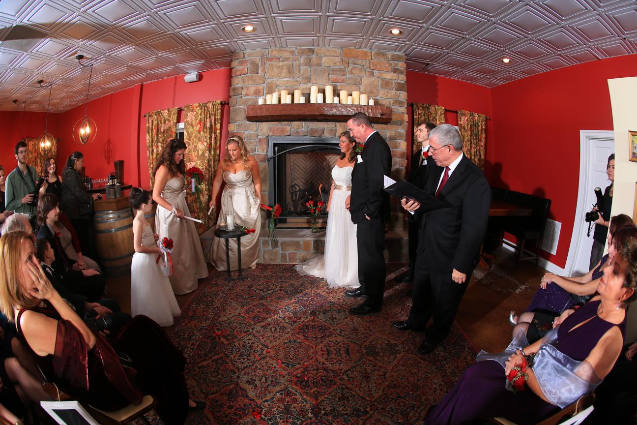 Wedding Ceremony Photo 8 Chains North Winery
