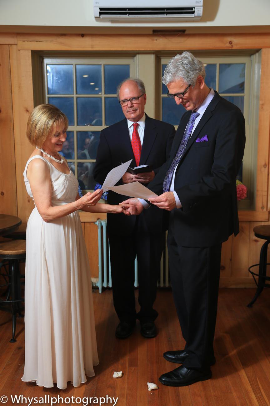 Wedding Ceremony Bluemont Brewery