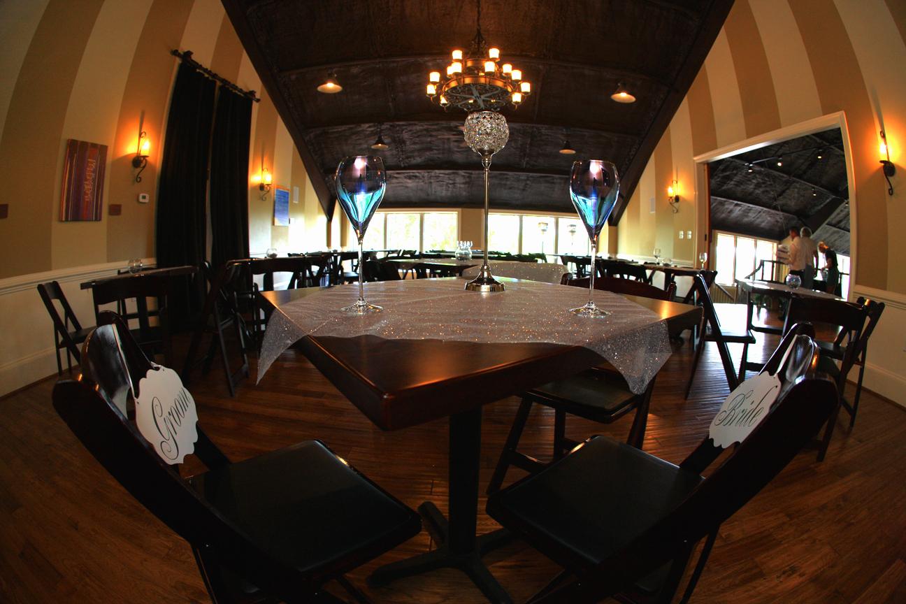 Wedding Reception Room Photo Cana Vineyards