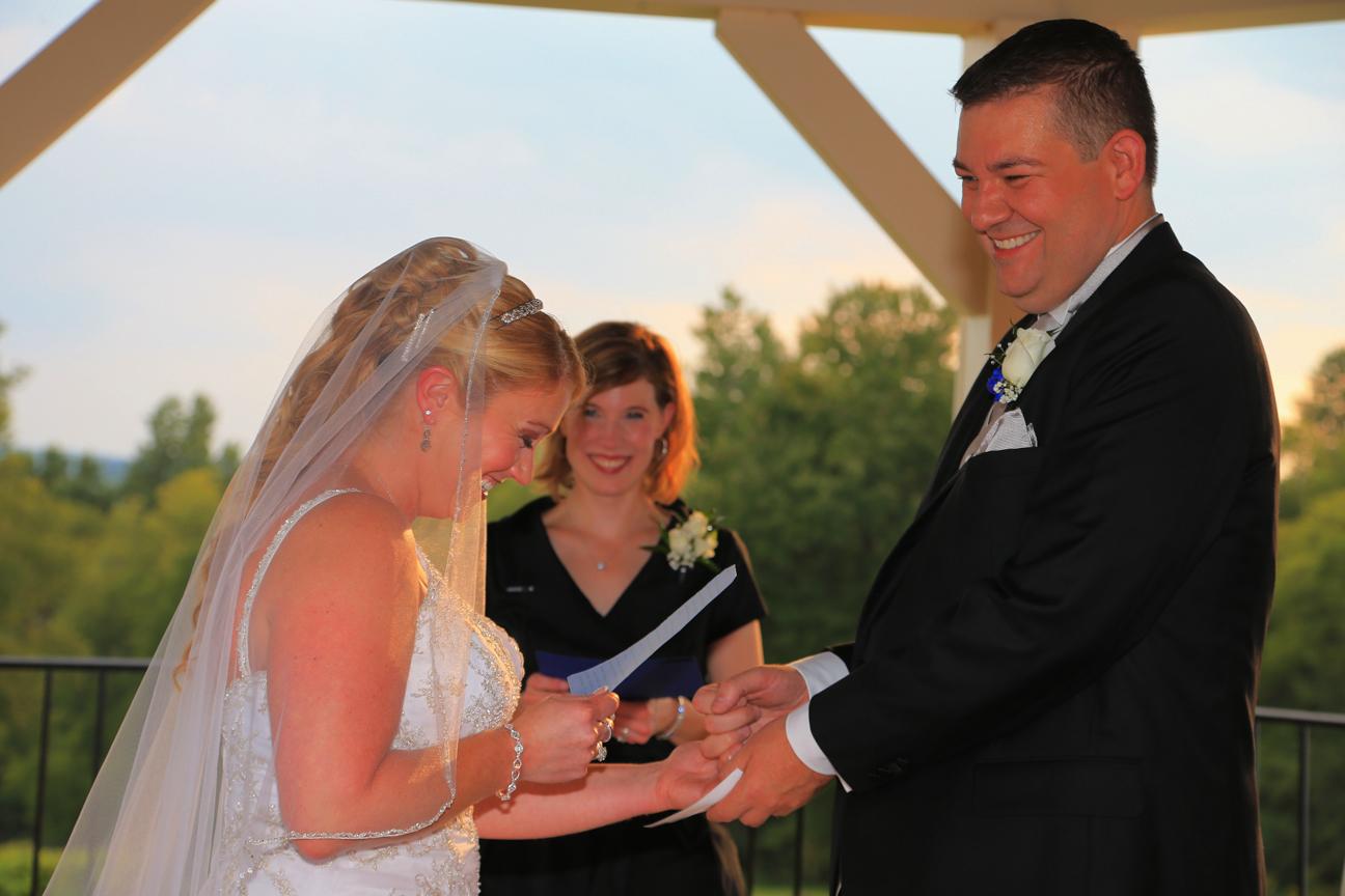 Wedding Ceremony Photo Cana Vineyards