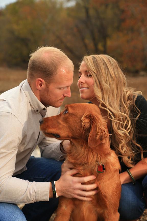 Baker Park Engagement Photo