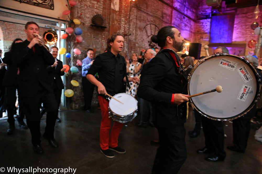 Bank making entrance industrial wedding baltimore md