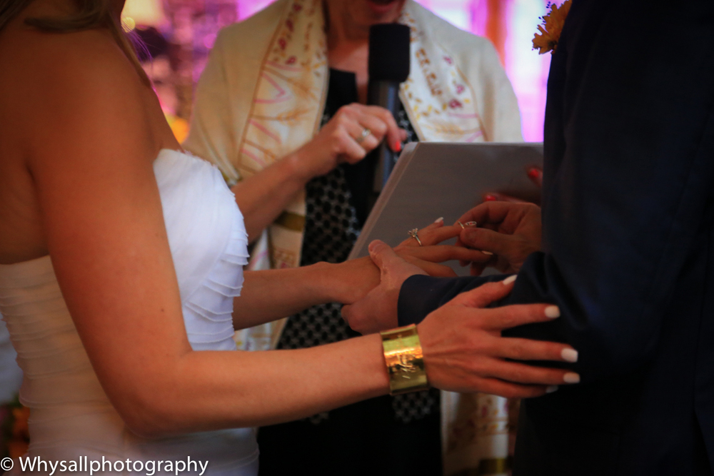 exchanging rings industrial wedding baltimore md