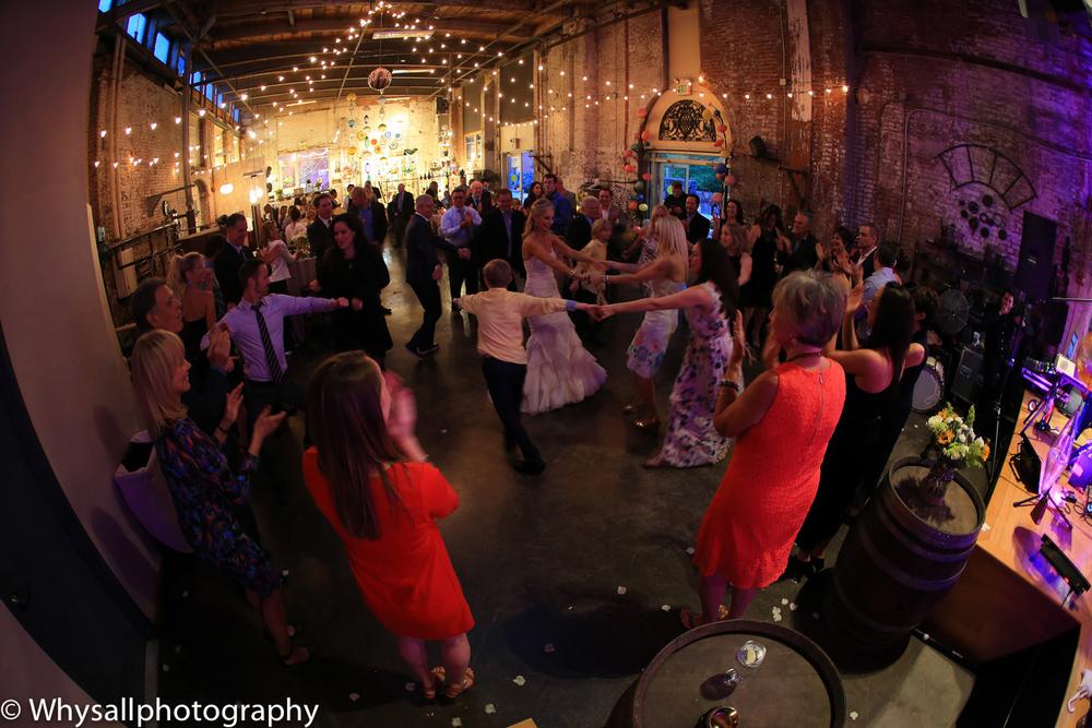 dancing industrial wedding baltimore md