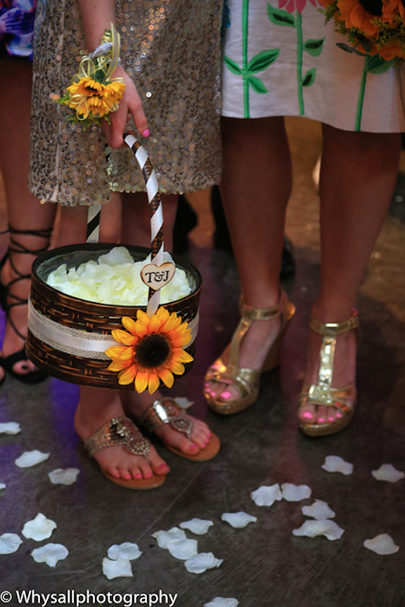 detail photo ceremony industrial wedding baltimore md