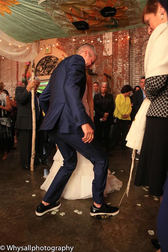wedding ceremony industrial wedding baltimore md