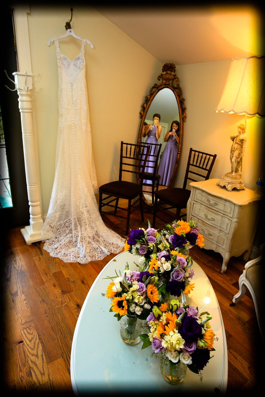 wedding dress bluemont winery